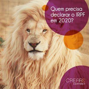 Quem precisa declarar o IRPF em 2020?