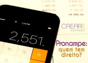 O pronampe é uma linha de crédito com condições especiais para Microempresas e Empresas de Pequeno Porte.